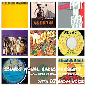 Sounds Visual Radio Presents: How Deep Is Your Crate, Episode 6 with DJ Rndm Noise